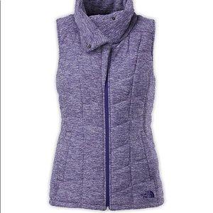 Women's Pseudio Purple North Face Vest Medium